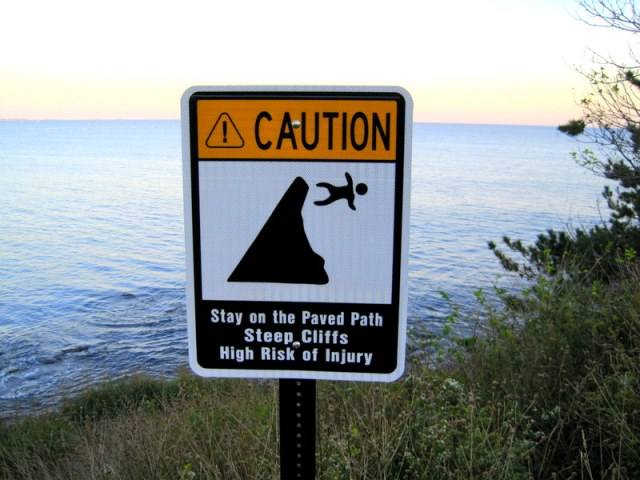 Cliff Sign