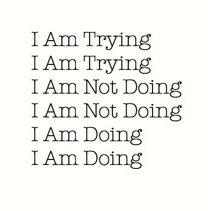 I am trying