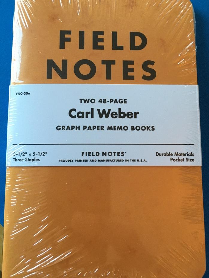 Field Notes Carl Weber