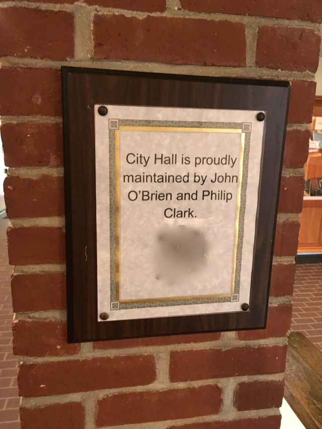 Who cleans city hall?